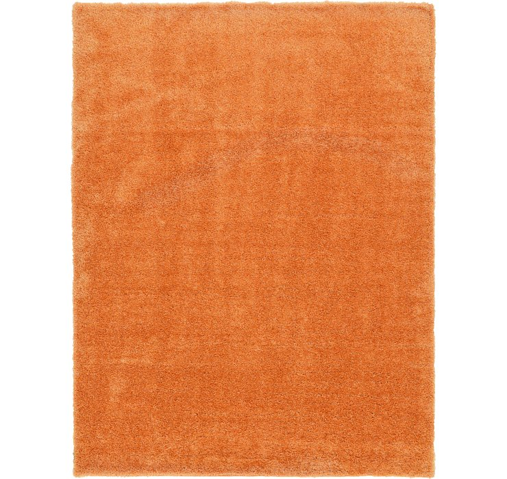 9' x 12' Luxury Solid Shag Rug