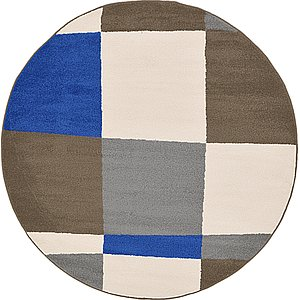 Link to 6' x 6' Frieze Round Rug page