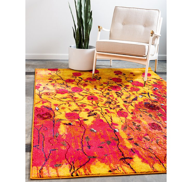Yellow Hyacinth Rug
