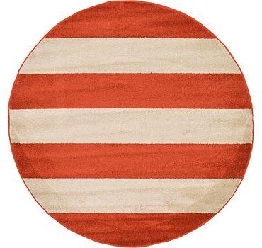 185x185 Frieze Rug