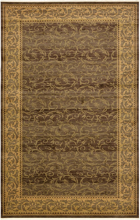 Brown 10 6 X 16 5 Classic Aubusson Rug Area Rugs