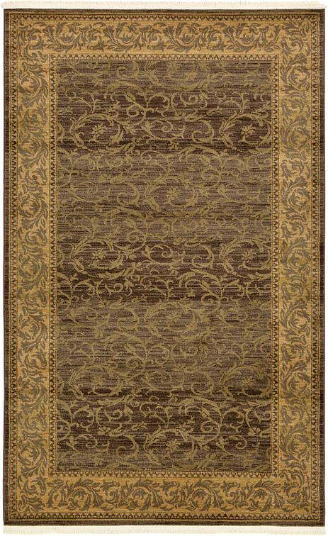 Brown 5 X 8 Classic Aubusson Rug Area Rugs Irugs Uk