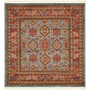 Unique Loom 4' x 4' Sahand Square Rug