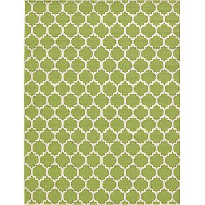 Oversized Green Trellis  Rugs!