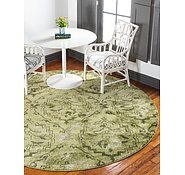 Link to 185cm x 185cm Damask Round Rug