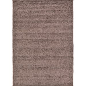 7' x 10' Solid Frieze Rug