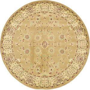 Link to 6' x 6' Classic Agra Round Rug page
