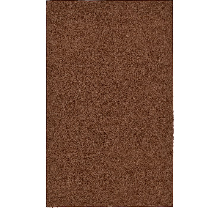 5' x 7' 10 Solid Basic Rug
