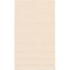 2x3 Beige & Ivory Solid Frieze  Rugs