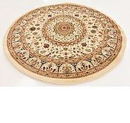 Link to 6' 7 x 6' 7 Mashad Design Round Rug