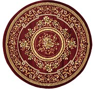 Link to 6' 7 x 6' 7 Classic Aubusson Round Rug