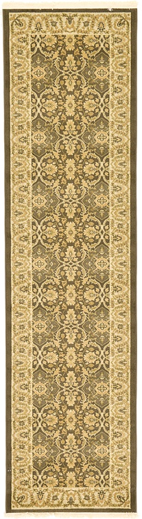 Brown 2 7 X 10 Kensington Runner Rug Area Rugs Esalerugs