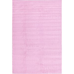 Oversized Pink Solid Frieze  Rugs