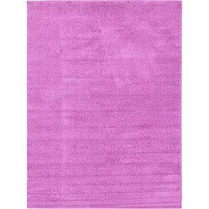9x12 Purple Solid Frieze  Rugs!