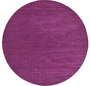 Link to 400cm x 400cm Solid Frieze Round Rug