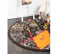 Link to Unique Loom 6' x 6' Sedona Round Rug