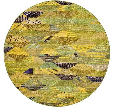 185x185 Santa Fe Rug