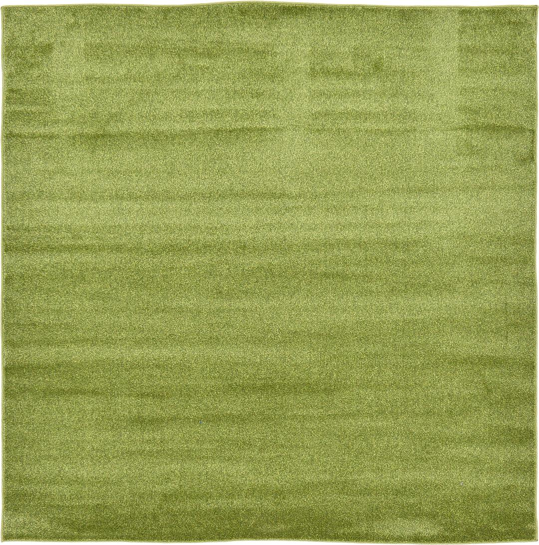 Calliste Green 6 X 6 Solid Basic Square Rug Area Rugs Esalerugs