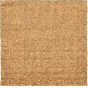 All Squares Beige & Ivory Solid Frieze  Rugs