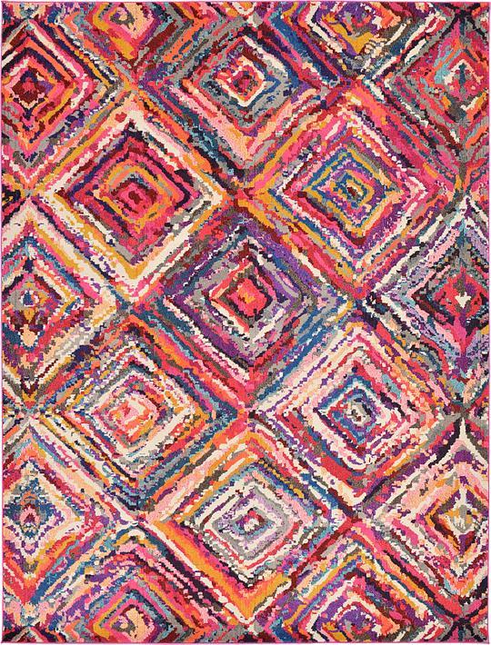 multi 9 39 x 12 39 casablanca rug area rugs esalerugs. Black Bedroom Furniture Sets. Home Design Ideas