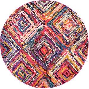 6' x 6' Casablanca Round Rug