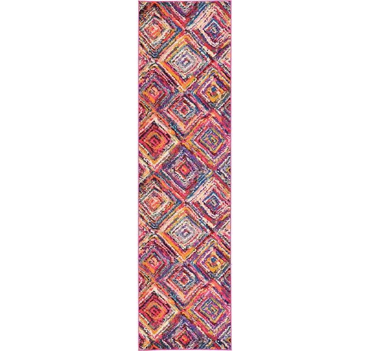 2' 7 x 10' Hyacinth Runner Rug