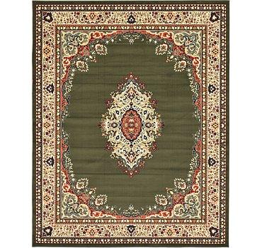 244x305 Mashad Design Rug