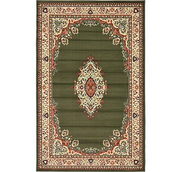 152x244 Mashad Design Rug