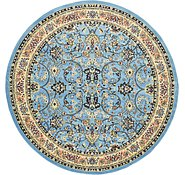 Link to 245cm x 245cm Kashan Design Round Rug
