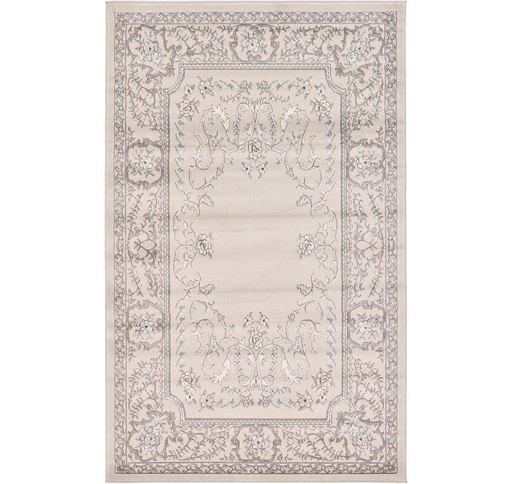 5' x 8' Kerman Design Rug