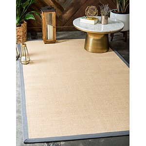 Unique Loom 3' x 5' Sisal Rug