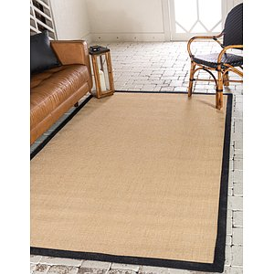 Unique Loom 5' x 8' Sisal Rug