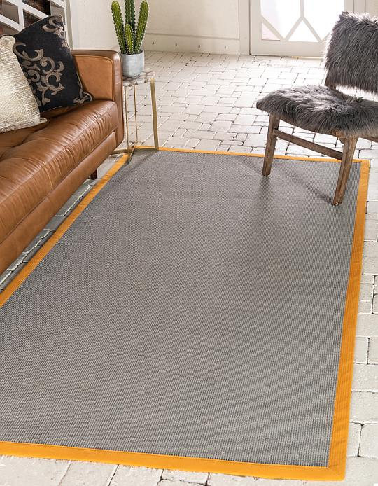 Light Slate Gray 9 X 12 Sisal Rug Area Rugs Irugs Uk