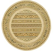 Link to 6' x 6' Kashkuli Gabbeh Round Rug