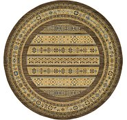 Link to 183cm x 183cm Kashkuli Gabbeh Round Rug