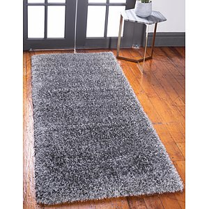 Unique Loom 2' 7 x 6' Luxe Solo Runner Rug