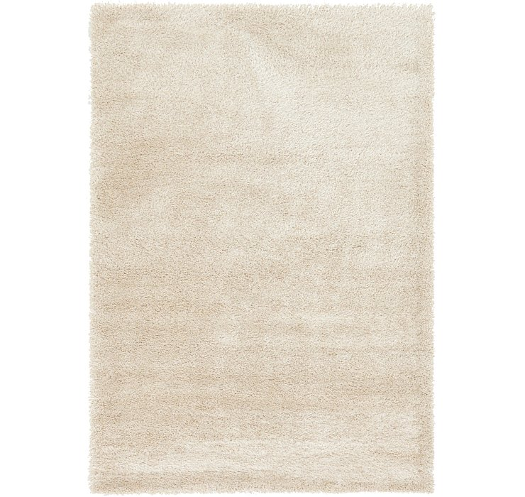6' x 9' Luxe Solid Shag Rug