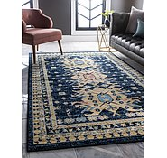 Link to 2' 2 x 3' Heriz Design Rug
