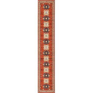Unique Loom 3' x 16' 5 Taftan Runner Rug