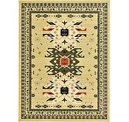Link to 9' 10 x 13' Heriz Design Rug