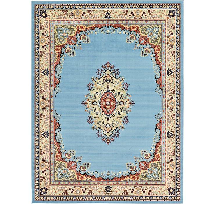 9' 10 x 13' Mashad Design Rug