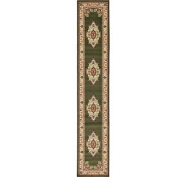 91x500 Mashad Design Rug