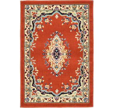 66x91 Mashad Design Rug