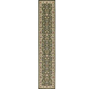 91x500 Kashan Design Rug