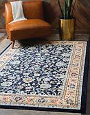 9' x 12' Kashan Design Rug thumbnail image 1