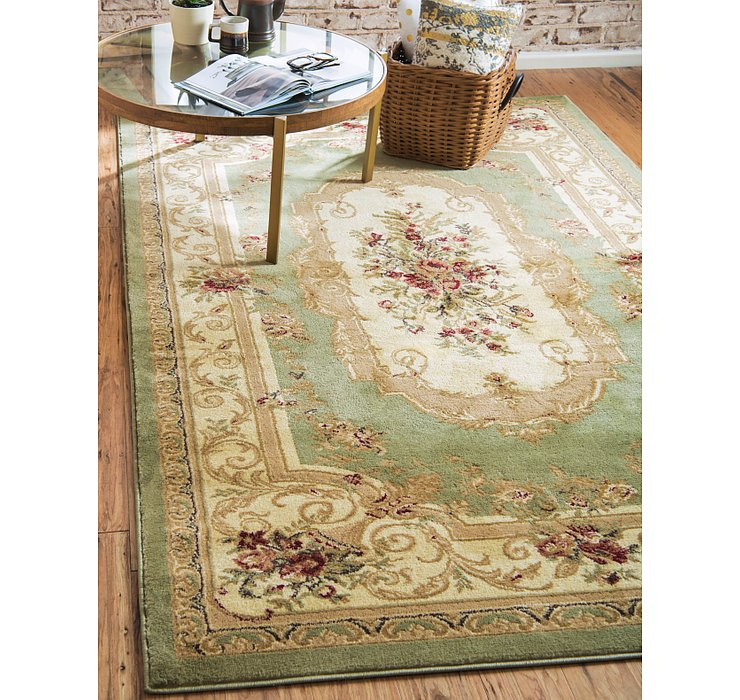 Green Chateau Rug
