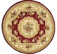 Link to 183cm x 183cm Classic Aubusson Round Rug