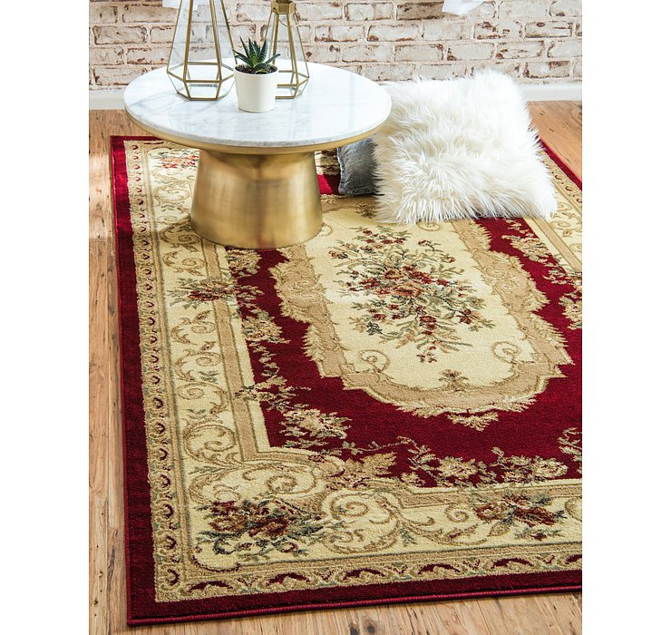 Red Chateau Rug