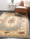 6' x 9' Classic Aubusson Rug thumbnail image 1