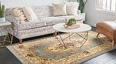 6' x 9' Classic Aubusson Rug thumbnail image 2